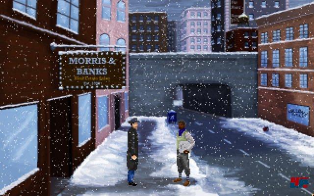 Aus dem kalten New York...