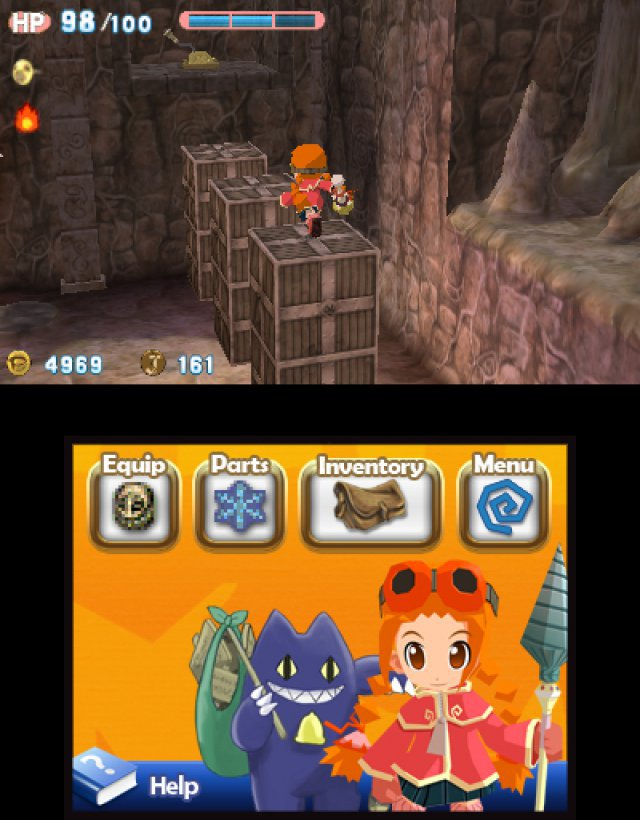 Screenshot - Gurumin: A Monstrous Adventure (3DS)