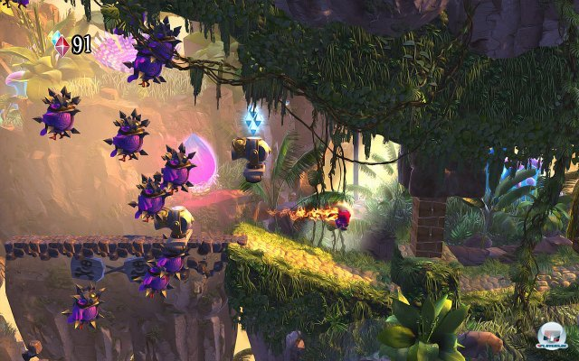 Screenshot - Giana Sisters: Twisted Dreams (PC)
