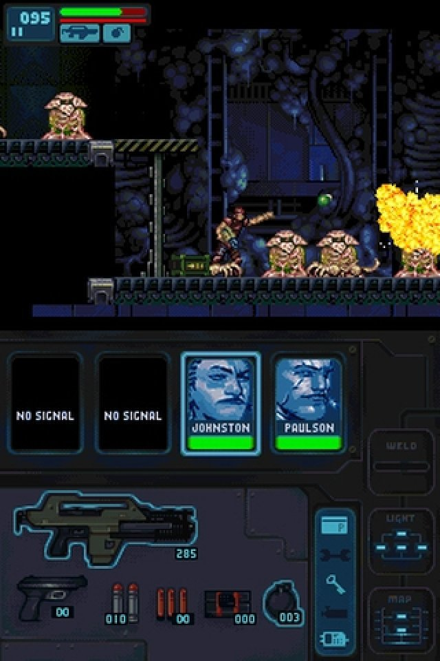 Screenshot - Aliens: Infestation (NDS)