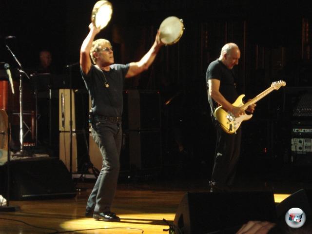 <b>Die Erkenntnis, dass...</b><br><br>...The Who auch ohne ihre Zivis auf der B�hne nach wie vor unglaublich rocken.