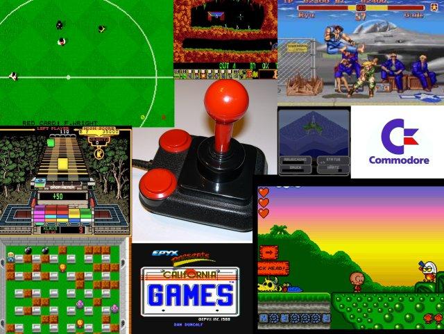 Konsolen-Flair <br><br>  Dass coole Jump n Runs und Mehrspieler-Action nicht nur den Konsolen vorbehalten waren, zeigte u.a. die hervorragende Umsetzung von Bonk, die Factor 5 unter dem Namen B.C. Kid auf den Amiga brachte. Auch der PC Engine-Klassiker Bomberman sorgte als Dynablaster vor allem mit dem 4 Spieler-Adapter für eine Bombenstimmung. Mit Highlights wie Kick Off 2, der gesamten Epyx-Palette von Summer- über Winter- bis hin zu den California Games sowie Beat em Ups von Street Fighter 2 bis Budokan kamen auch virtuelle Sportler auf ihre Kosten. Knobelspiele wie Gem X, Klax oder Atomix bereicherten die Auswahl dabei ebenso wie Wirtschaftssimulation und Managerspiele, darunter Sim City, Der Planer oder Oil Imperium. Hier alle Highlights der Amiga-Ära aufzuzählen, würde den Rahmen sprengen...     2133078