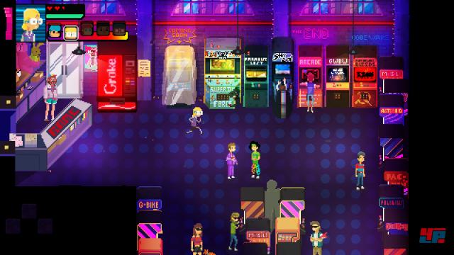 Erstmal ein Abstecher in die Arcade...die Weltenrettung kann warten!