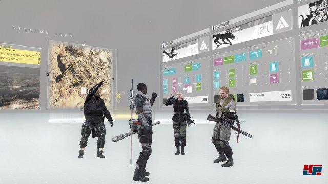 Die Lobby der kooperativen Gefechte versprüht einen ähnlich reizvollen Charme wie die Kämpfe selbst.