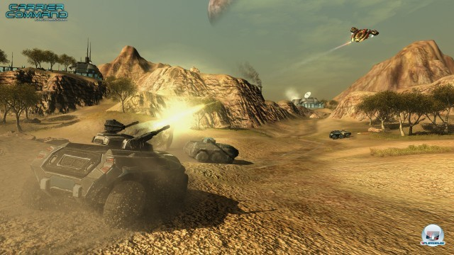 Screenshot - Carrier Command: Gaea Mission (PC) 2232333