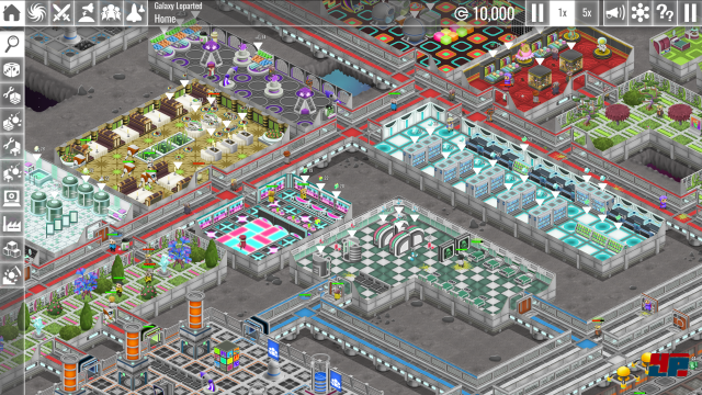 Screenshot - The Spatials: Galactology (Linux)