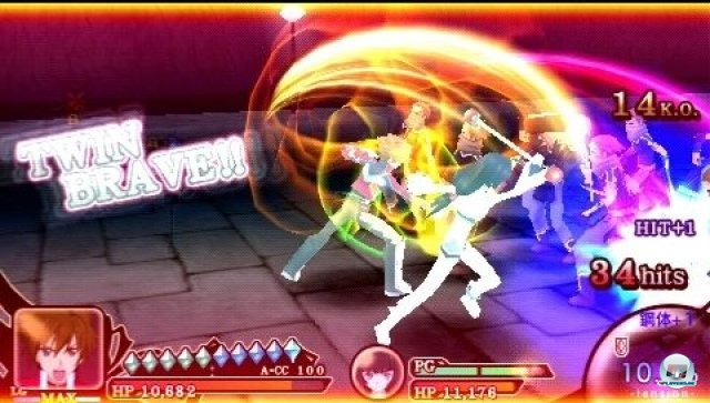 Screenshot - Tales of the Heroes: Twin Brave (PSP) 2295592