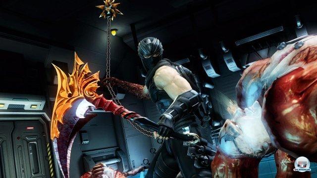 """Mehr Waffen, mehr Gegner, mehr Auswahl: Dank dieser Elemente macht """"Razor's Edge"""" in der Tat mehr Spa� als das Original."""