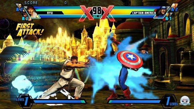 Technisch bietet das Spiel größtenteils die gewohnte Pracht - allerdings sind gerade die Hintergründe deutlich detail- und animationsärmer.
