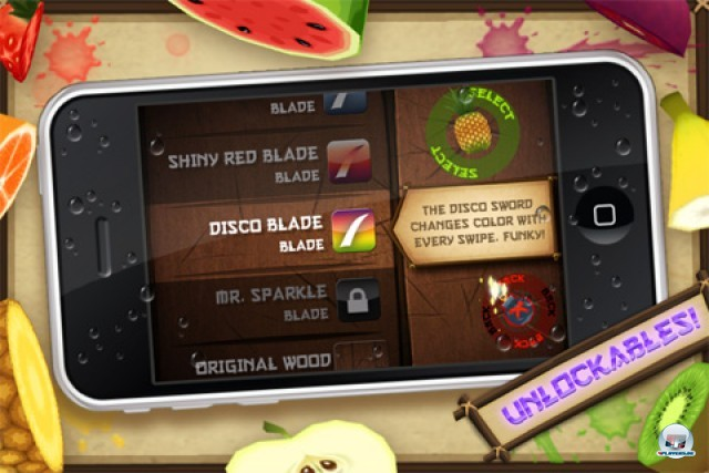 Screenshot - Fruit Ninja Kinect (iPhone)