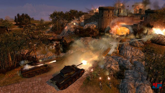 Screenshot - Company of Heroes 2: The British Forces (PC)