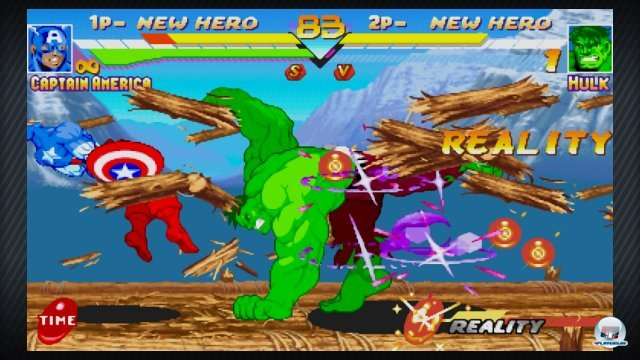 Screenshot - Marvel vs. Capcom Origins (360)