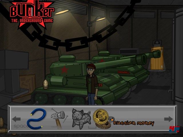 Screenshot - Bunker - The Underground Game (iPad)