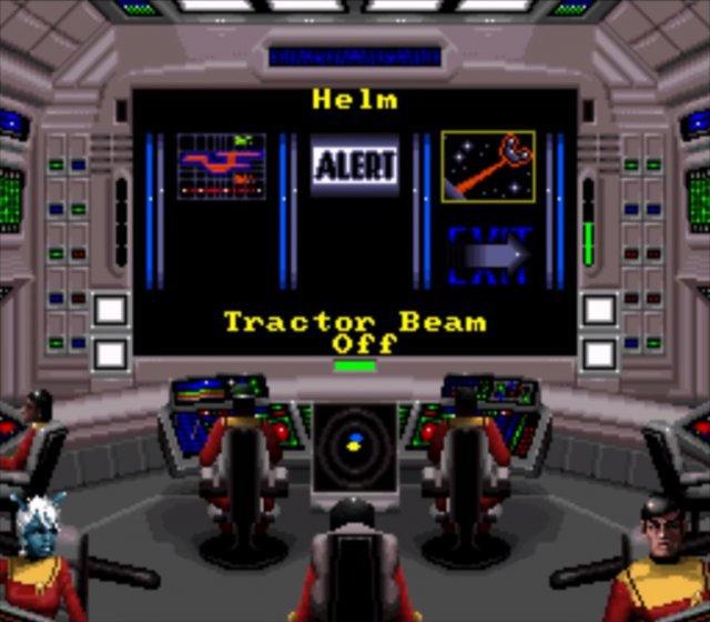 Noch bevor man am PC mit Starfleet und Klingon Academy auf der Brücke Platz nahm, startete man auf dem SNES mit Starfleet Academy: Spaceship Bridge Simulator ins All.