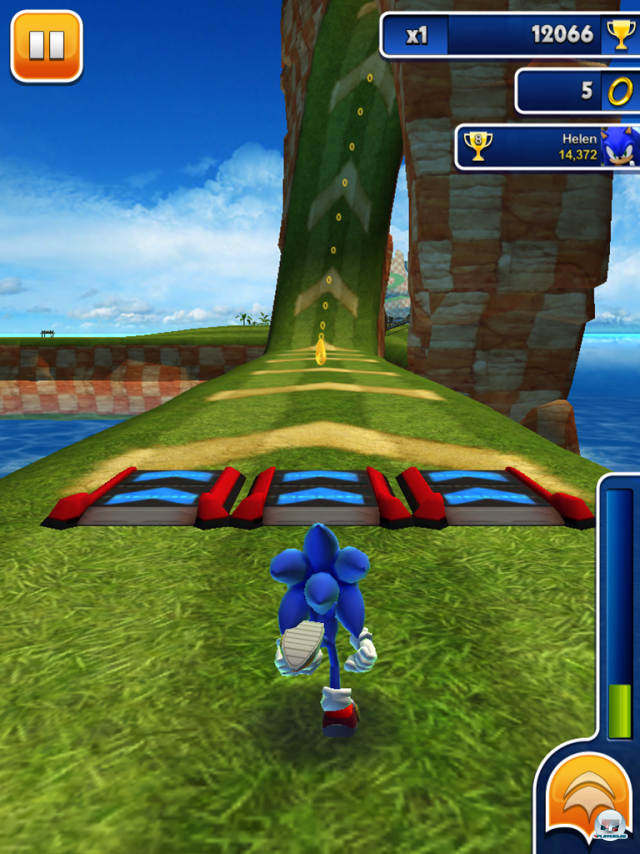 Screenshot - Sonic Dash (iPad)