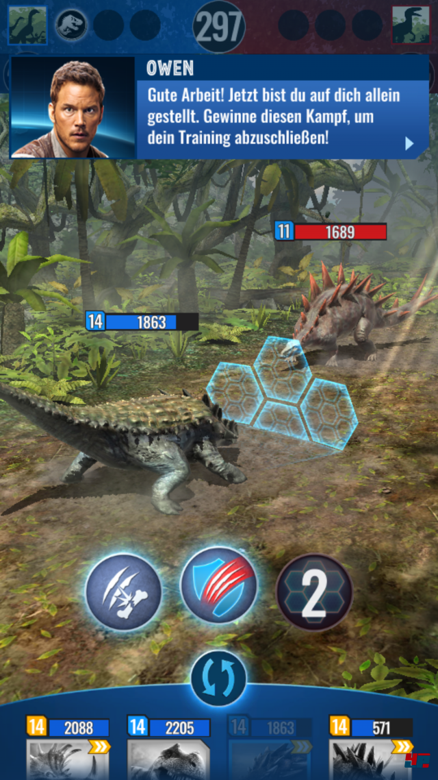 Screenshot - Jurassic World Alive (Android) 92566312