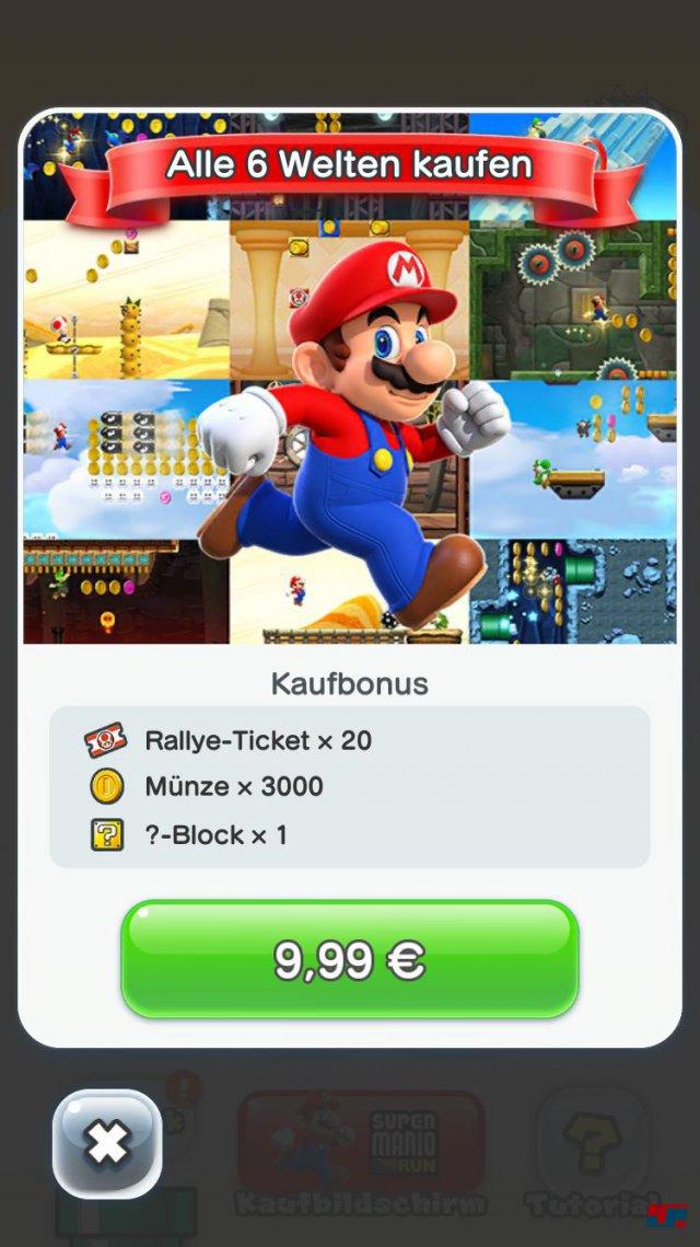 Screenshot - Super Mario Run (iPad) 92537683