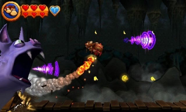 Screenshot - Donkey Kong Country Returns (3DS)