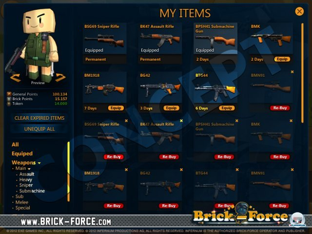 Screenshot - Brick Force (PC)