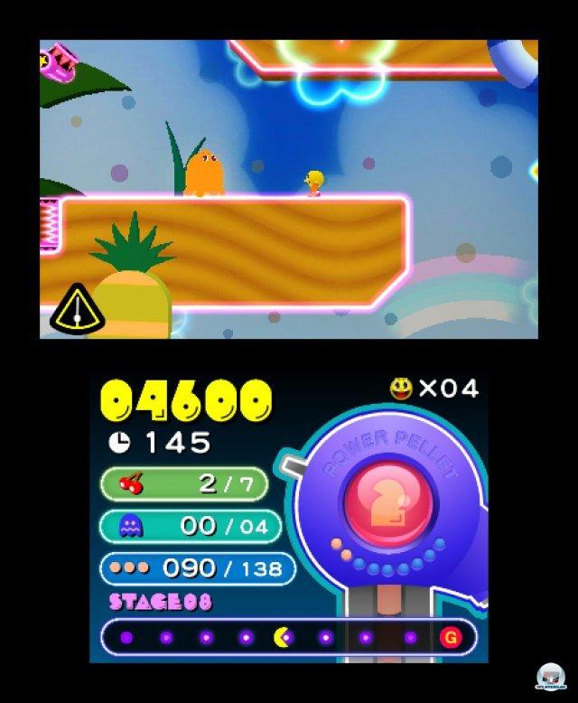 Screenshot - Pac-Man & Galaga Dimensions (3DS) 2257407