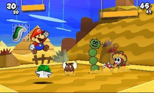 Screenshot - Paper Mario: Sticker Star (3DS) 92410522
