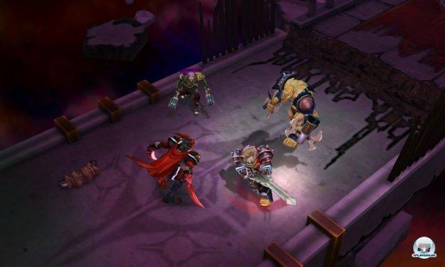 Im Koop-Modus kann man sich mit bis zu drei anderen Spielern zusammentun.