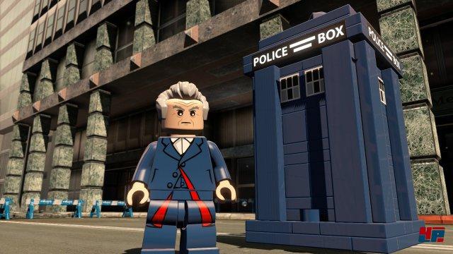 Der Doctor und seine Utensilien zur Weltrettung.
