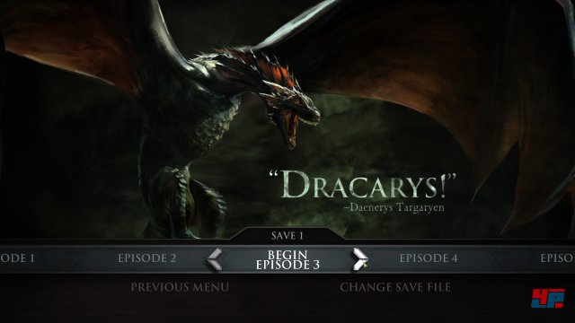 Screenshot - Game of Thrones - Episode 3: The Sword in the Darkness (iPad) 92502839