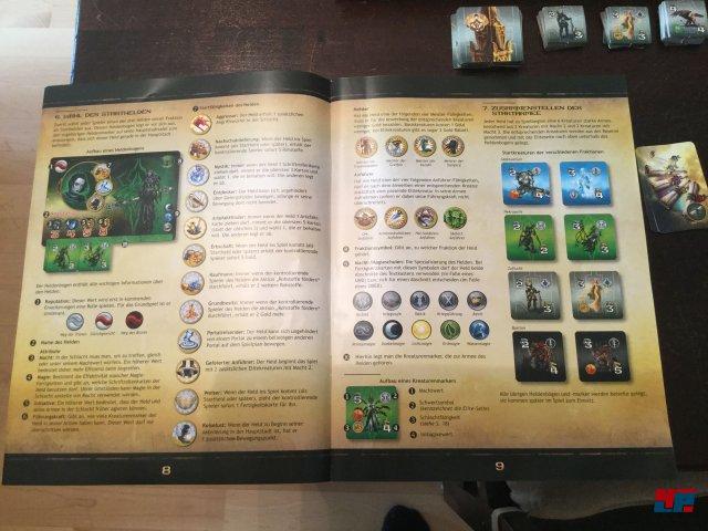 Kein langes Studieren: Might & Magic hat ein schnell verinnerlichtes Regelwerk.