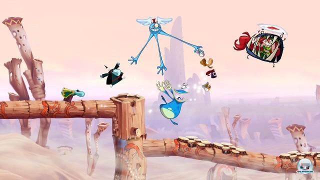 Screenshot - Rayman Origins (PlayStation3) 2248292