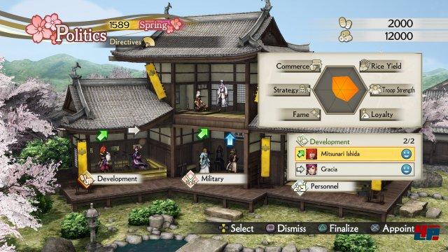 Screenshot - Samurai Warriors 4: Empires (PlayStation3)