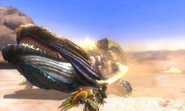 Screenshot - Monster Hunter 3G (3DS) 2285337