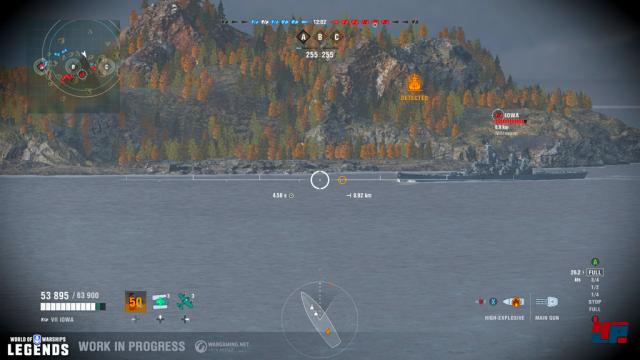 Screenshot - World of Warships (PS4) 92572390