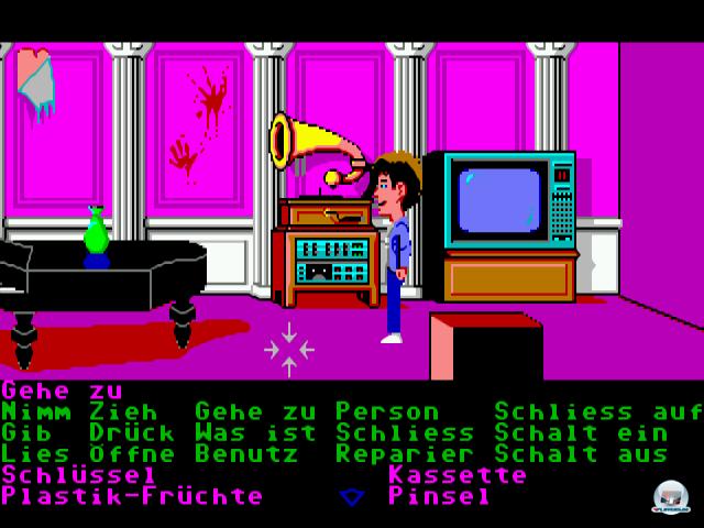 Das SCUMM-System mit seinen 15 Verben war eine kleine Revolution im Adventure-Genre.