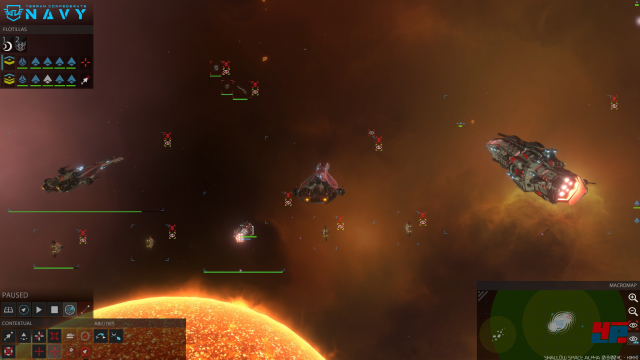 Screenshot - Shallow Space (Linux)