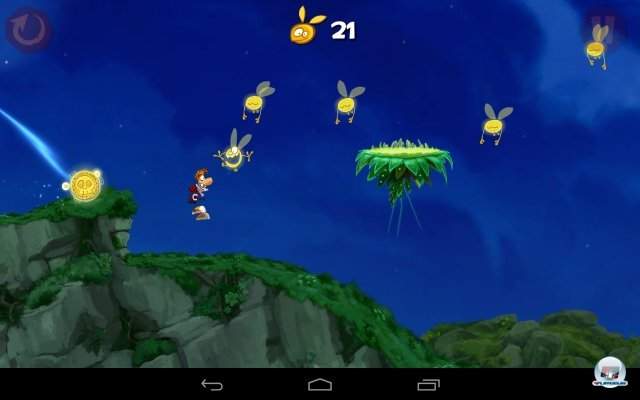 Screenshot - Rayman Jungle Run (Android) 92438957