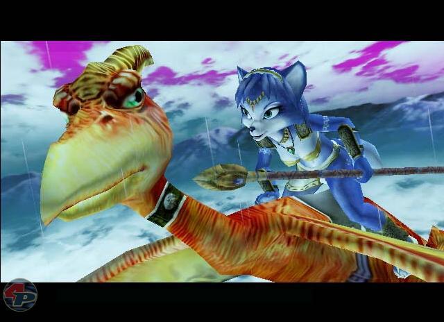 Die geheimnisvolle Krystal, die Fox McCloud retten soll. 16070