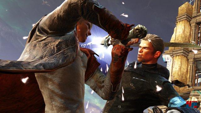 """Der Vergil-DLC ist natürlich mit von der Partie. Zusätzlich bekommt Dantes Bruder u.a. seine eigenen """"Bloody-Palace""""-Arenakämpfe."""