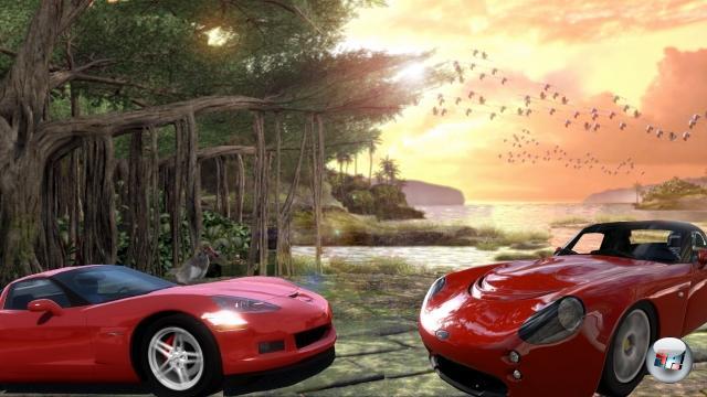 Runde Sieben: Forza Motorsport vs. Gran Turismo<br><br>Rennspiele bieten mittlerweile durch die Bank fast fotorealistische Grafik, ein exzellentes Fahrmodell, ausgefeilte Physik, lizenzierte Mördermaschinen und Strecken - eine gewisse Homogenisierung lässt sich kaum leugnen. Der Gewissenskrieg Forza vs. Gran Turismo wird daher gegenwärtig hauptsächlich an der Frage entschieden, ob man ein Schadensmodell haben muss oder nicht. 1778288