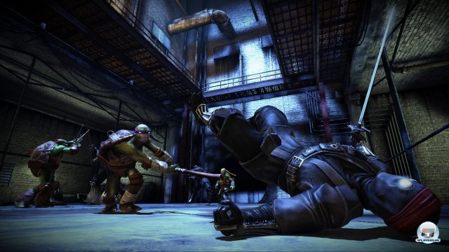Screenshot - Teenage Mutant Ninja Turtles: Out of the Shadows (360)