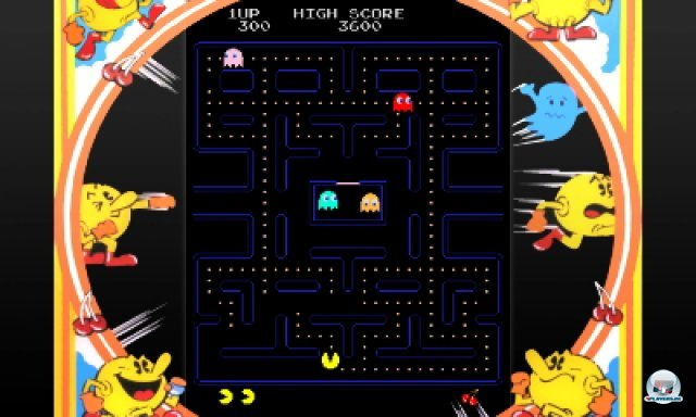 Screenshot - Pac-Man & Galaga Dimensions (3DS) 2257237