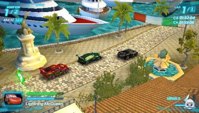 Screenshot - Cars 2: Das Videospiel (PSP) 2231623