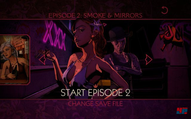 Screenshot -  The Wolf Among Us: Episode 2 - Smoke & Mirrors (PC)
