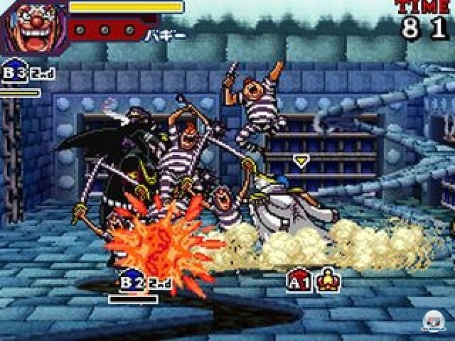 Screenshot - One Piece: Gigant Battle (NDS) 2237508