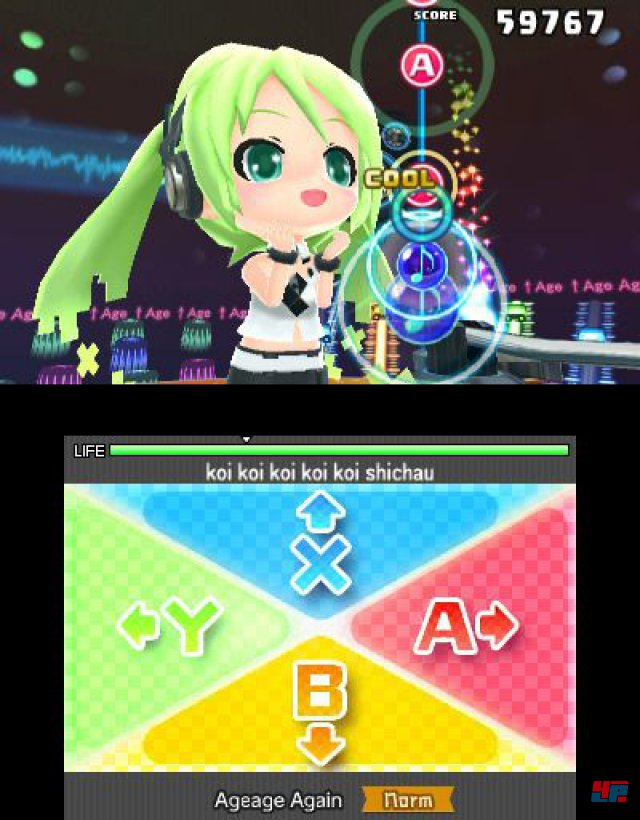 Screenshot - Hatsune Miku: Project Mirai DX (3DS)
