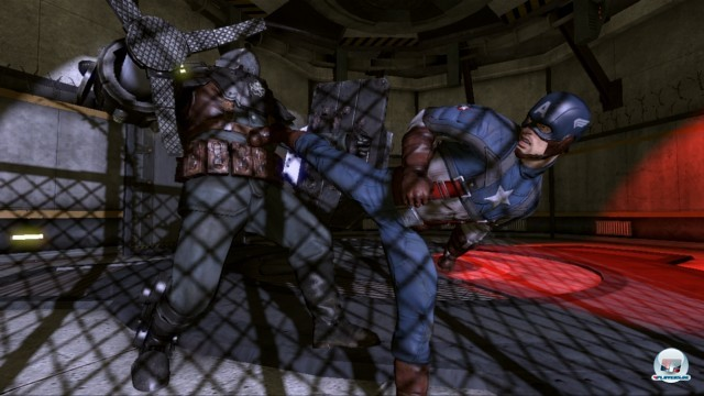 Screenshot - Captain America: Super Soldier (PlayStation3)