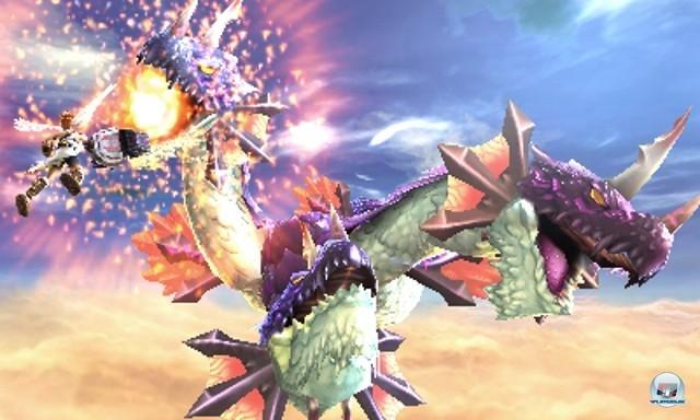 <b> Kid Icarus: Uprising </b><br><br>F�r den 3DS sind ebenfalls frische Genre-Vertreter in der Mache. Neben einem Remake des Super-Nintendo-Klassikers StarFox legt Nintendo auch Kid Icarus neu auf: Der f�r das diesj�hrige Weihnachtsgesch�ft geplante Nachfolger mit dem Untertitel Uprising bietet allerdings komplett neue Levels.