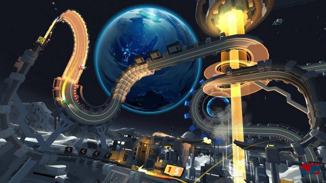 Screenshot - Tiny Trax (PlayStationVR)
