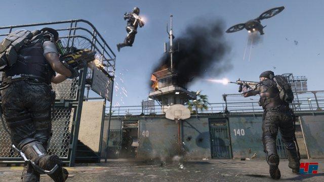 Ab in die Luft: Call of Duty geht neue Wege.