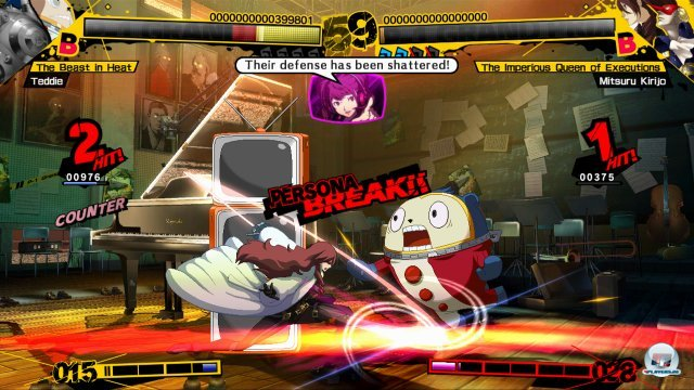 Screenshot - Persona 4: Arena (PlayStation3) 2370532